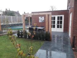 renovatie voor-achtertuin