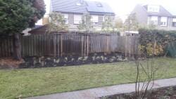 renovatie voor en achtertuin